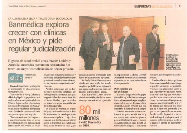 Noticias Archivos - Empresas Banmedica 5923330ebca
